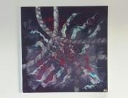 tableau abstrait : tentacules
