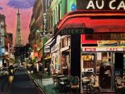 tableau villes paris ville capitale splendeur : PARIS ville lumière
