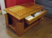 bois marqueterie table basse bois marqueterie : Table basse