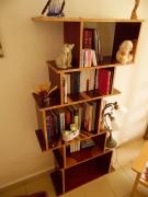 bois marqueterie bois marqueterie bibliotheque rouge : Bibliothèque