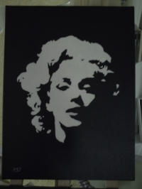 Marilyn-toile