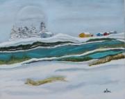 tableau paysages : paysage nordique