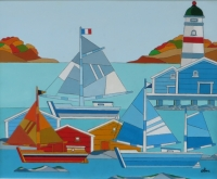 phare et voiliers