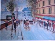 tableau personnages : vie parisienne