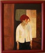 tableau : Femme rousse