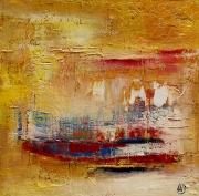 tableau abstrait : Vibrato
