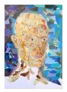 autres portrait carte chauve visage : portrait