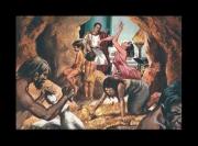autres scene de genre prehistoire cleopatre pierre silex : scènes de ménage