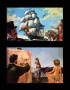 autres voilier peinture enfant marmotte : télescopage binaire