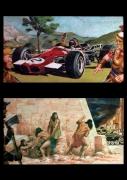 autres scene de genre romain azteque bucheron char : télescopage binaire 02