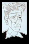 tableau personnages david lynch portrait : david lynch