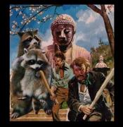 autres scene de genre bouddha raton laveur brigand : méchants garcons