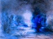 tableau autres bleu phtalo nature bleue : imagine....