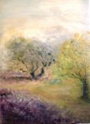 tableau provence arbres olivier douceur : provence