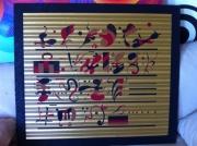 tableau abstrait kandinsky abstrait ecriture : Kandinsky 3 (revisité)