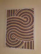 tableau abstrait abstrait geometrie division sable : Méïose