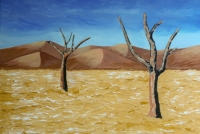 Le désert avance