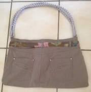 """art textile mode autres sac ,a main pantalon sac : sac à main """"pantalon"""""""