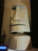 sculpture : moai ariègeois