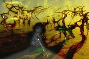 art numerique paysages sang innocent henri iv : Le sang des innocents (60x40)