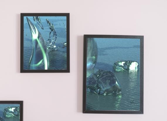 ART NUMéRIQUE océan Scène de genre  - Lorelei II