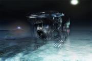 mixte abstrait oubli nuit passe : Oblivion II (60x40)