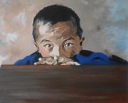tableau personnages enfant : portrait