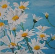 tableau fleurs : marguerite 4