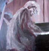 tableau personnages pianiste musique : pianiste