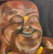 tableau personnages bouddha : bouddha rieur