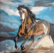 tableau animaux : cheval
