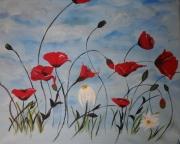 tableau fleurs : bouquet 2