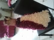 sculpture autres robe coquillage roses bal : robe de bal
