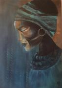 tableau : Africa blue