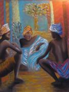 tableau : Amitié africaine