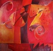 tableau abstrait : Psyché
