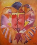 tableau abstrait : El conquistador