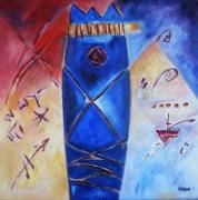 tableau abstrait : Arawak