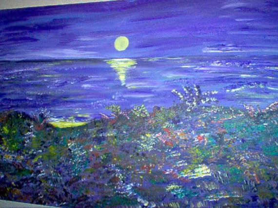 TABLEAU PEINTURE la mer paysage Paysages  - la mer