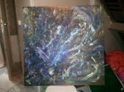 tableau abstrait abstrait : splash