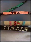 bijoux autres bracelet : bracelet brésilien prénom