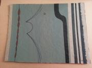 tableau abstrait abstrait tableau : Oh !