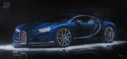 tableau : Bugatti Chiron
