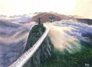 tableau paysages rio de janeiro christ aviation : Embrasser les cieux