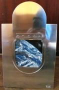 tableau paysages globe terrestre hublot vaisseau spatial : Home