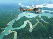 tableau paysages amazonie spad aviation : Spadamazonie
