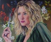 femme à la cigarette