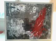 tableau abstrait : sanglant
