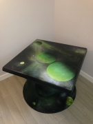 "artisanat dart paysages table galaxie osart street art : Table basse ""Galaxie"""