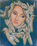tableau nus surrealisme psychedelisme erotisme : Fantasmes